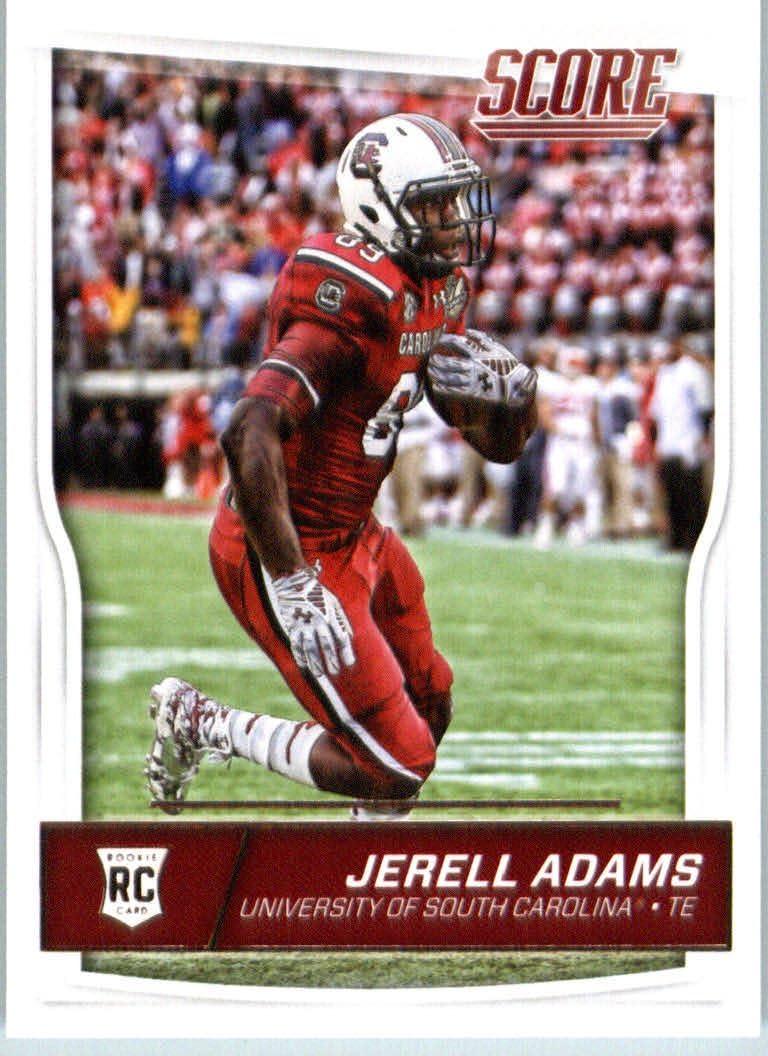 Amazon.com: 2016 Score #384 Jerell Adams South Carolina Gamecocks Football  Rookie Card: Collectibles & Fine Art