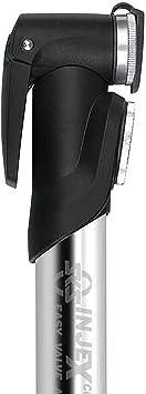 SKS 6501 Injex Lite Zoom Mini pompe /à air Longueur 252 mm Tous types de valve Noir//gris