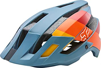 Fox Flux Drafter Casco, Blue, Tamaño XS/S