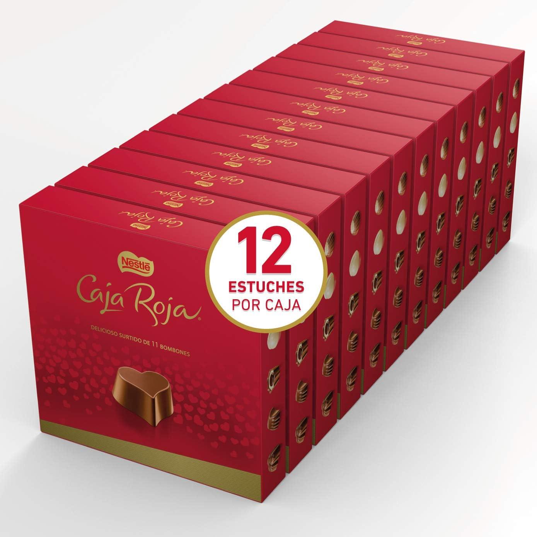 Nestlé Caja Roja Bombones de Chocolate - Estuche de bombones12x100g: Amazon.es: Alimentación y bebidas