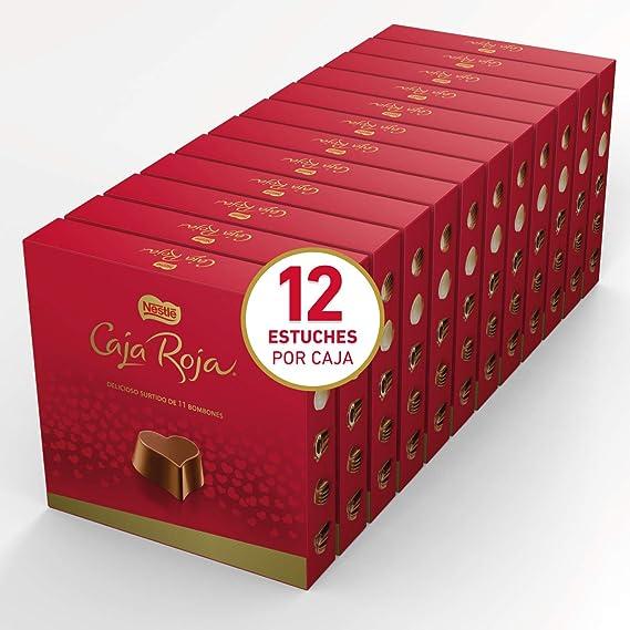 Nestlé Caja Roja Bombones de Chocolate - Estuche de ...