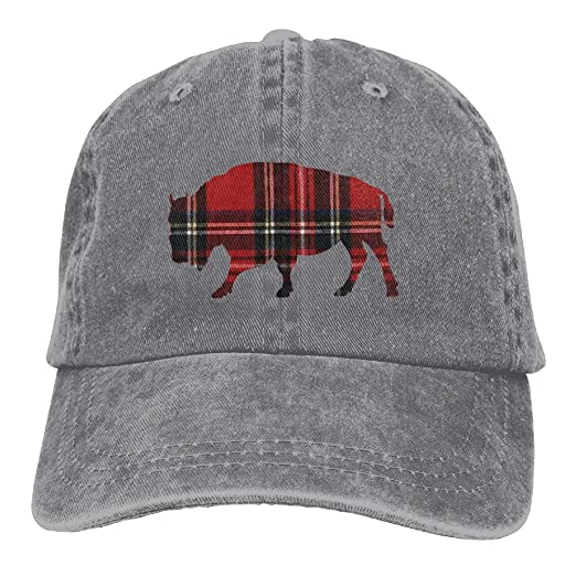 0f704aa69dc Cool Buffalo Plaid Polo Style Classic Baseball Dad Hat For Women and ...