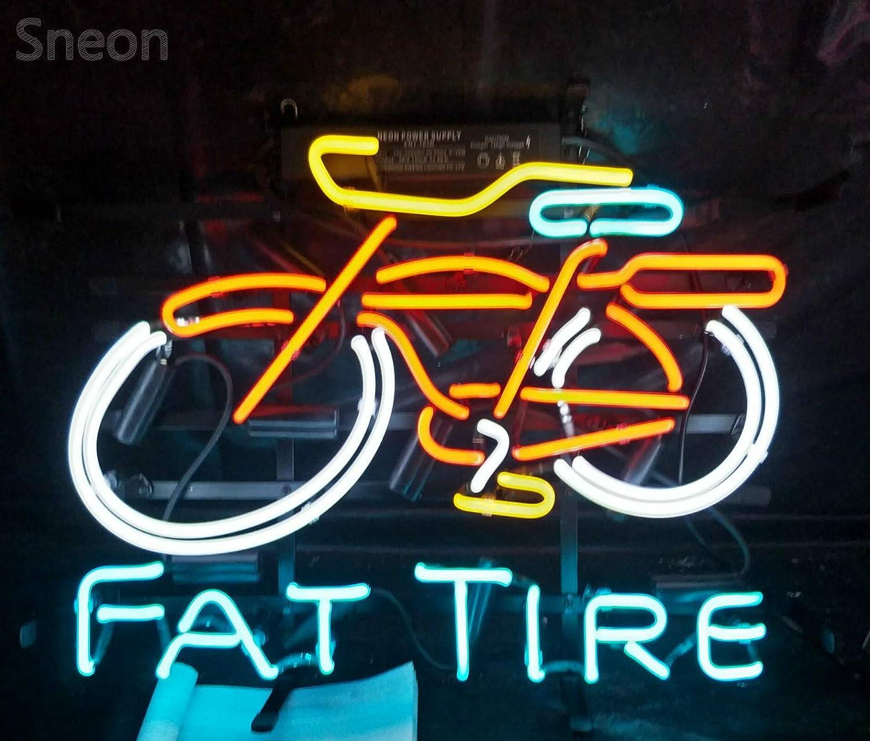 b5c4c86b8b868 LinC Neon Sign- Fat Tire Bike Home Decor Light for Bedroom Garage ...