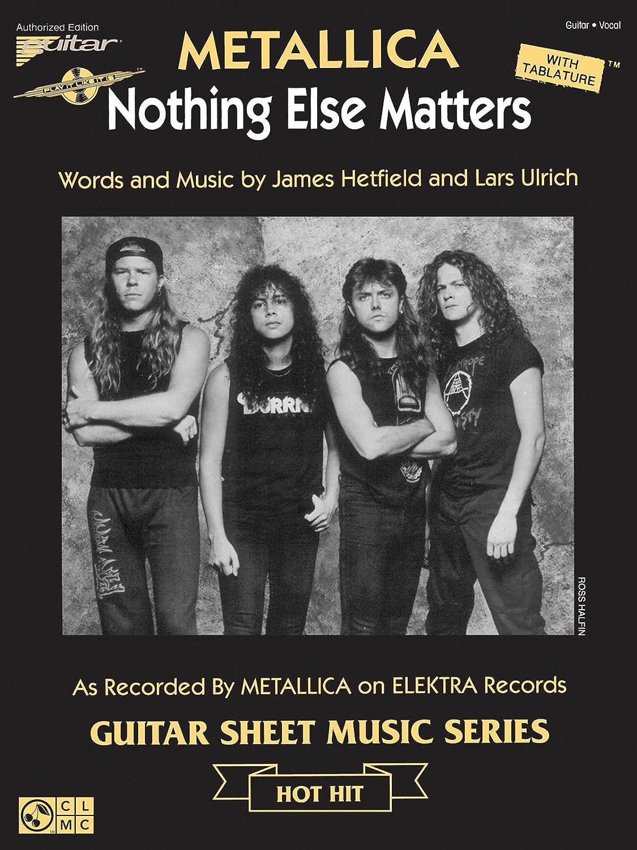 Nothing Else Matters - Guitar - Book: Amazon.es: Instrumentos ...