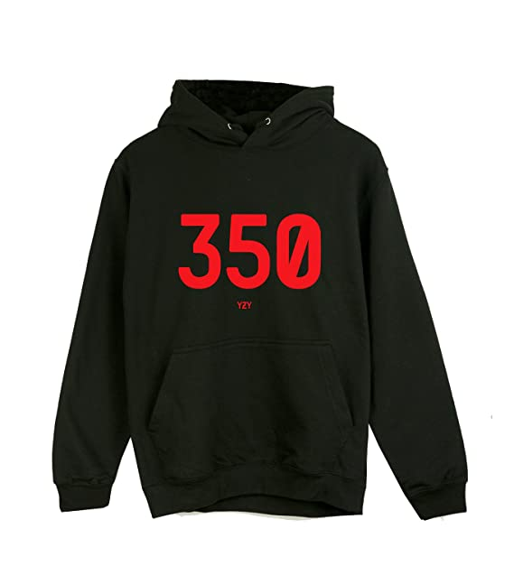 92d5f26eff2f7 Yeezy 350 Hoodie - The Perfect Hoodie for The Yeezy Boost Fans Black   Amazon.co.uk  Clothing