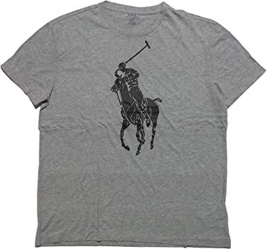 e109b87f5 Polo Ralph Lauren Men's Classic-Fit Big Pony T-Shirt (Medium ...