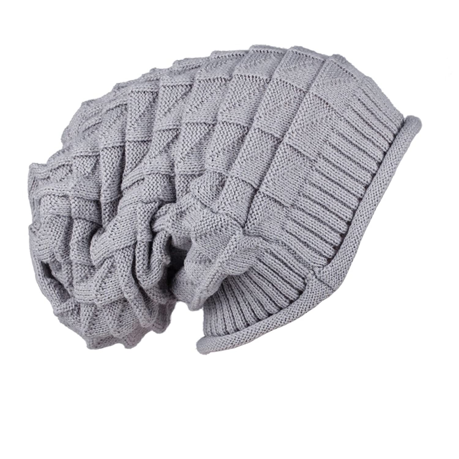 JTC Women Men Knit Cap Grey