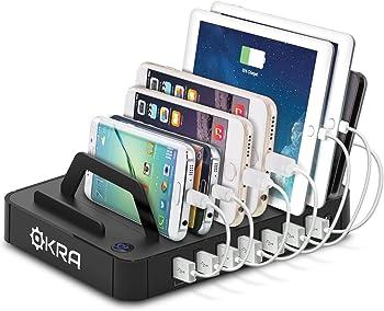 Okra 7-Port Universal USB Charging Station