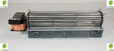 DN 60 - Ventilador tangencial universal con ventilador de 60,5 cm con motor a