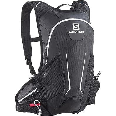 5ab4718e961a [サロモン] ランニングハイドレーションバッグ AGILE 12 SET BLACK/IRON/White