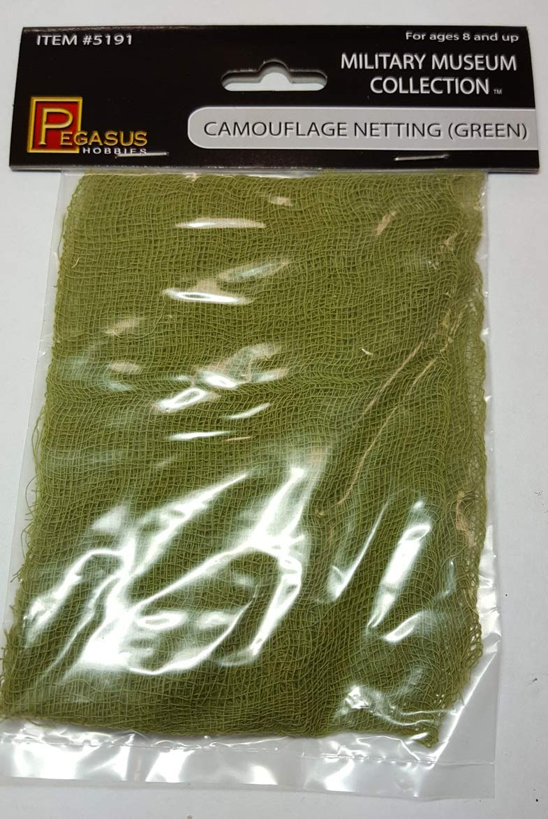 Green Camouflage Netting Model Supplies