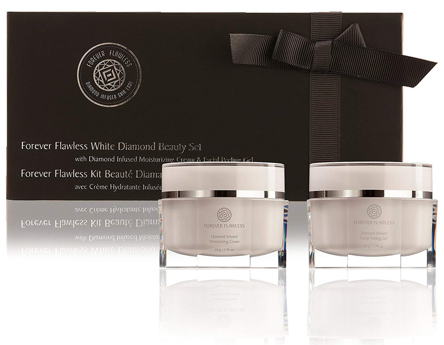 Amazon.com: Forever Flawless Facial Peeling Gel and Moisturizing Cream.Two-Step Face Treatment. SPA Exfoliation at Home and Optimal Hydration fora Flawless Look!: Beauty