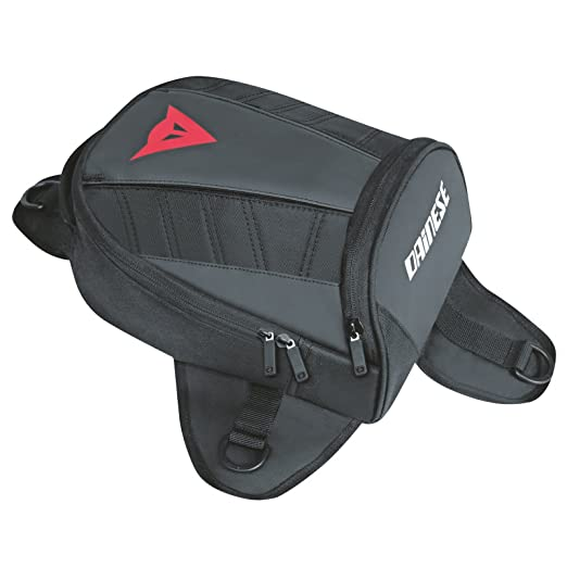 Dainese-D-TANKER MOTORCYCLE MINI BAG, Stealth-Negro, Talla N