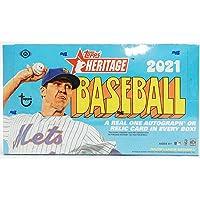 $146 » 2021 Topps Heritage MLB Baseball HOBBY box (24 pks/bx)