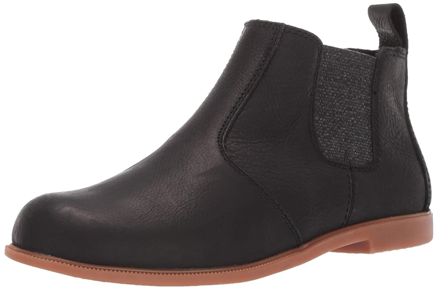 Black Traction Kodiak Womens Low-Rider Chelsea Fashion Boot