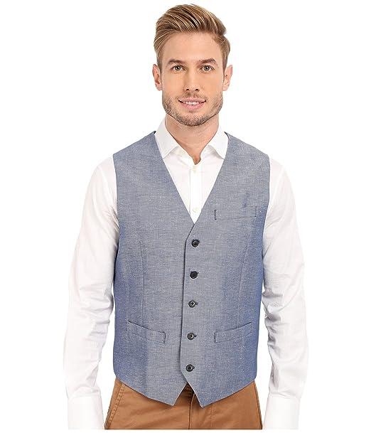 Perry Ellis traje de lino y algodón de sarga para hombre ...