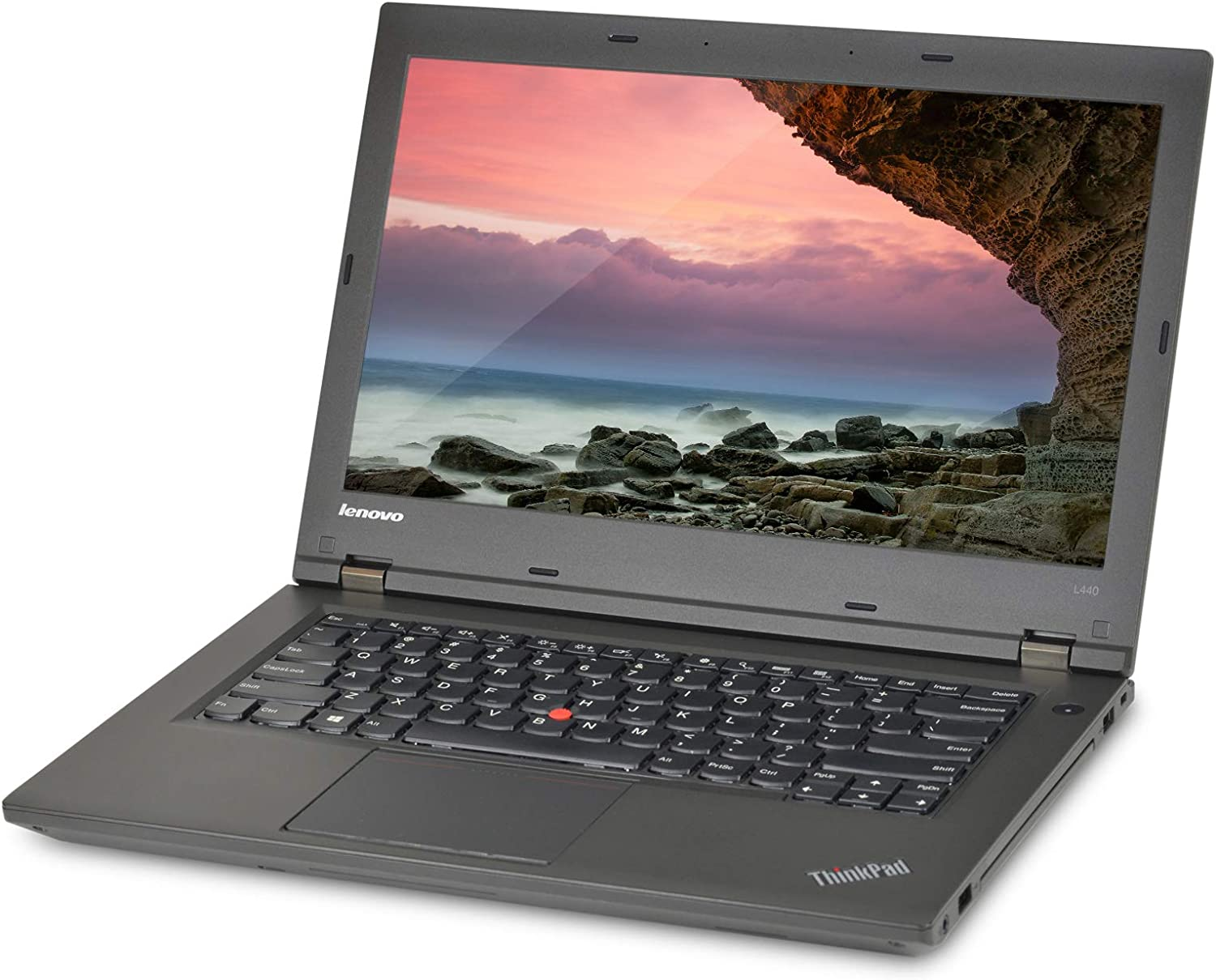 Lenovo ThinkPad L440 14in Laptop, Core i5-4300M 2.6GHz, 8GB Ram, 500GB HDD, Windows 10 Pro 64bit (Renewed)