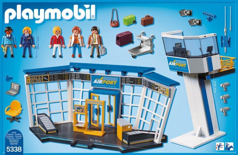 Playmobil Flughafen Anleitung