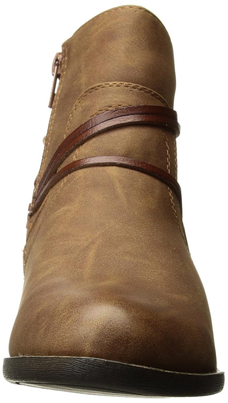 Madden Girl Women's Become Ankle Boot B073NZWZ86 10 B(M) US|Cognac Paris