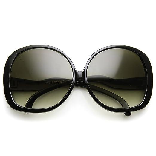 033218886272d AStyles - Big Huge Oversized Vintage Style Sunglasses Retro Women Celebrity  Fashion (Black)