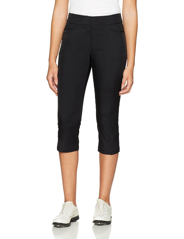 Caviar PGA TOUR Womens Motionflux 26  Tech Capris with Comfort Stretch Pants