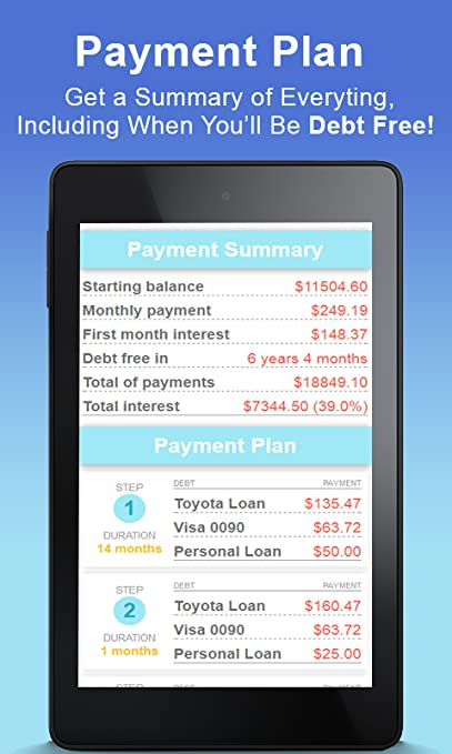 Debt Payoff Planner and Payment Tracker