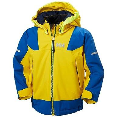 52e80703 Helly Hansen Kids Unisex Velocity 2 Insulated Jacket, 351 SULPHUR, 4