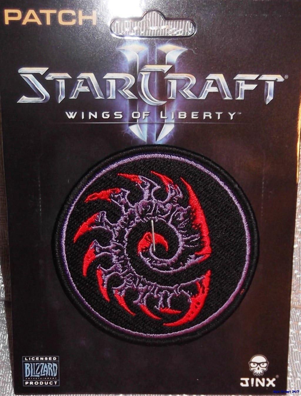 Starcraft alas de libertad Zerg bordado parche: Amazon.es: Juguetes y juegos