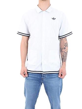 T-shirt para hombre ADIDAS ORIGINALS SEERSUCKER SNAP DV3108 ...
