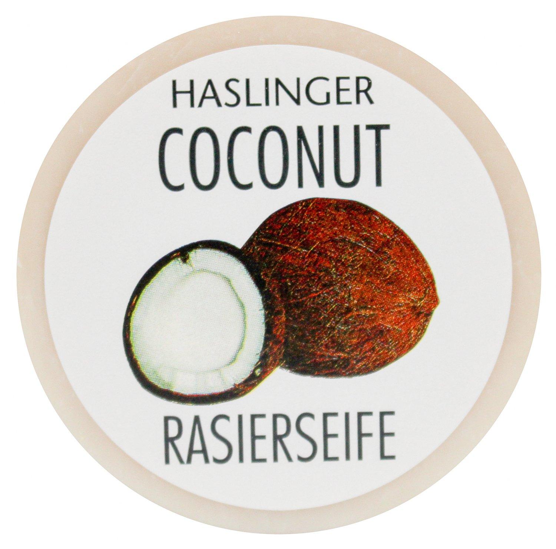HASLINGER Jabón de Afeitar Coconut–Coco Einseifer