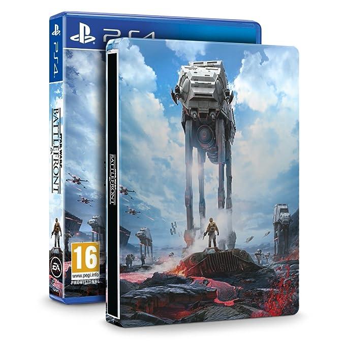 Star Wars Battlefront Steelbook (Exclusive to Amazon co uk) (PS4