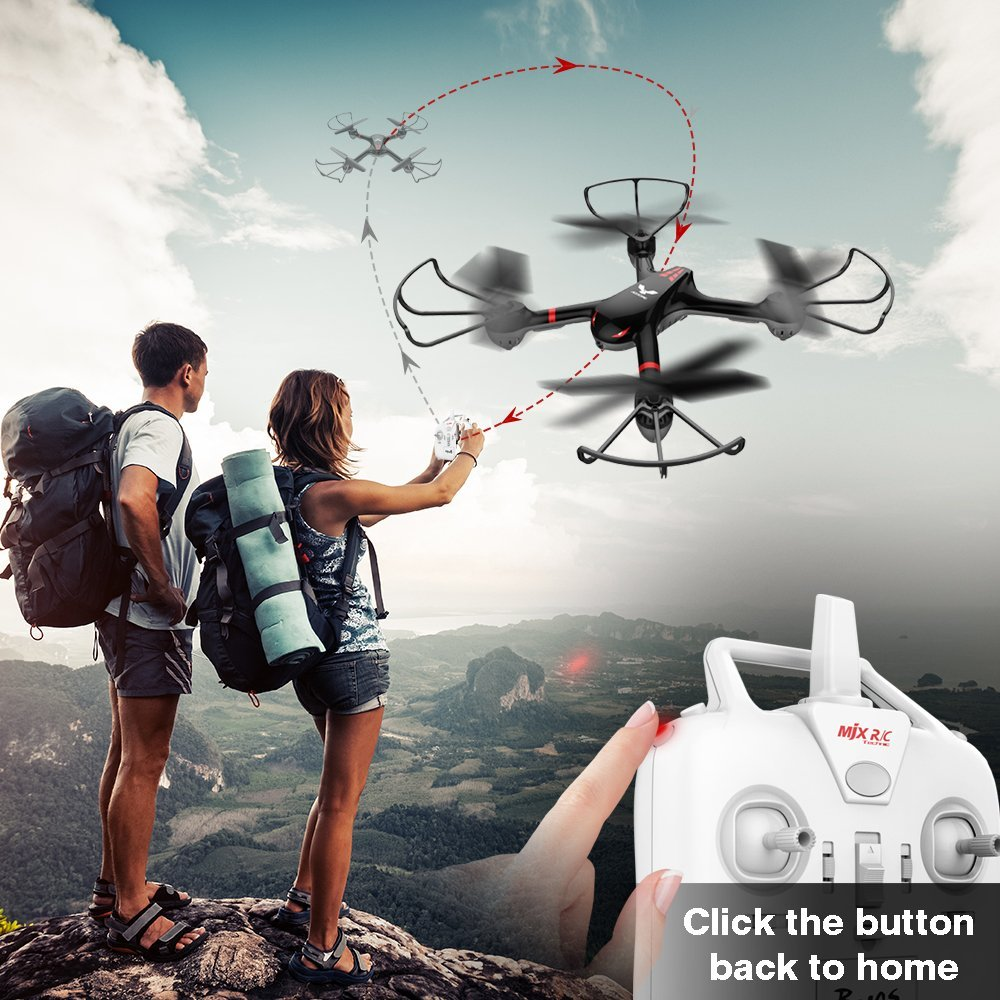 DROCON Cyclone X708 Drone for Beginners Kids Training Quad copter with Headless