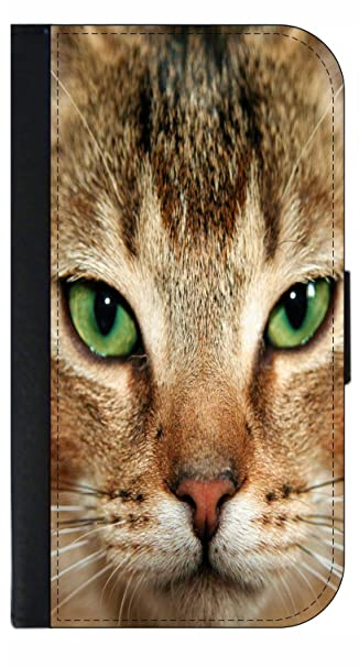 d86ad188fe53 Image Unavailable. Image not available for. Color  Up-Close Kitten with Green  Eyes Wallet Phone Case for The iPhone 10 X