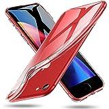 ESR Coque iPhone 8, Coque iPhone 7, Etui Transparent Gel Silicone TPU Souple, Bumper Housse de Protection Premium pour Apple iPhone 7 (2016) iPhone 8 (2017) 4,7 Pouces (Série Jelly, Transparent)