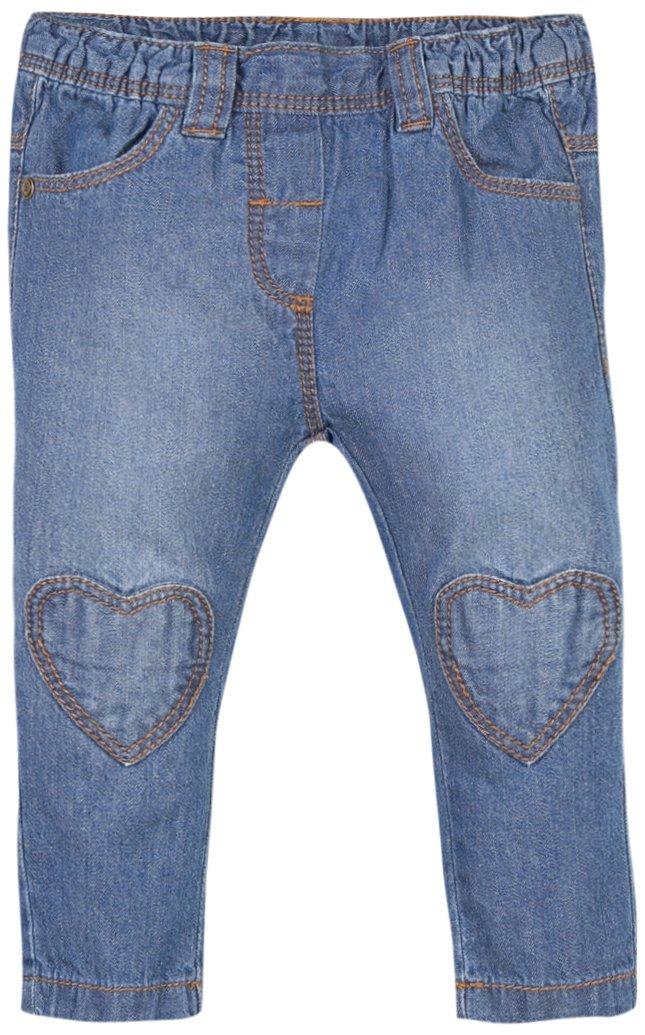 Grain de Blé Baby Girls' Jeans Forme Carotte Bleu Ciel 1K22110