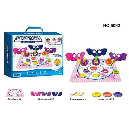 Lecc Juguetes Educativos para Niños, 10 Juegos De Mesa para Niños ...