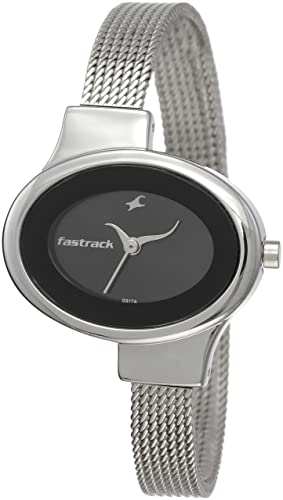 10. Fastrack Economy Analog Black Dial Women's Watch