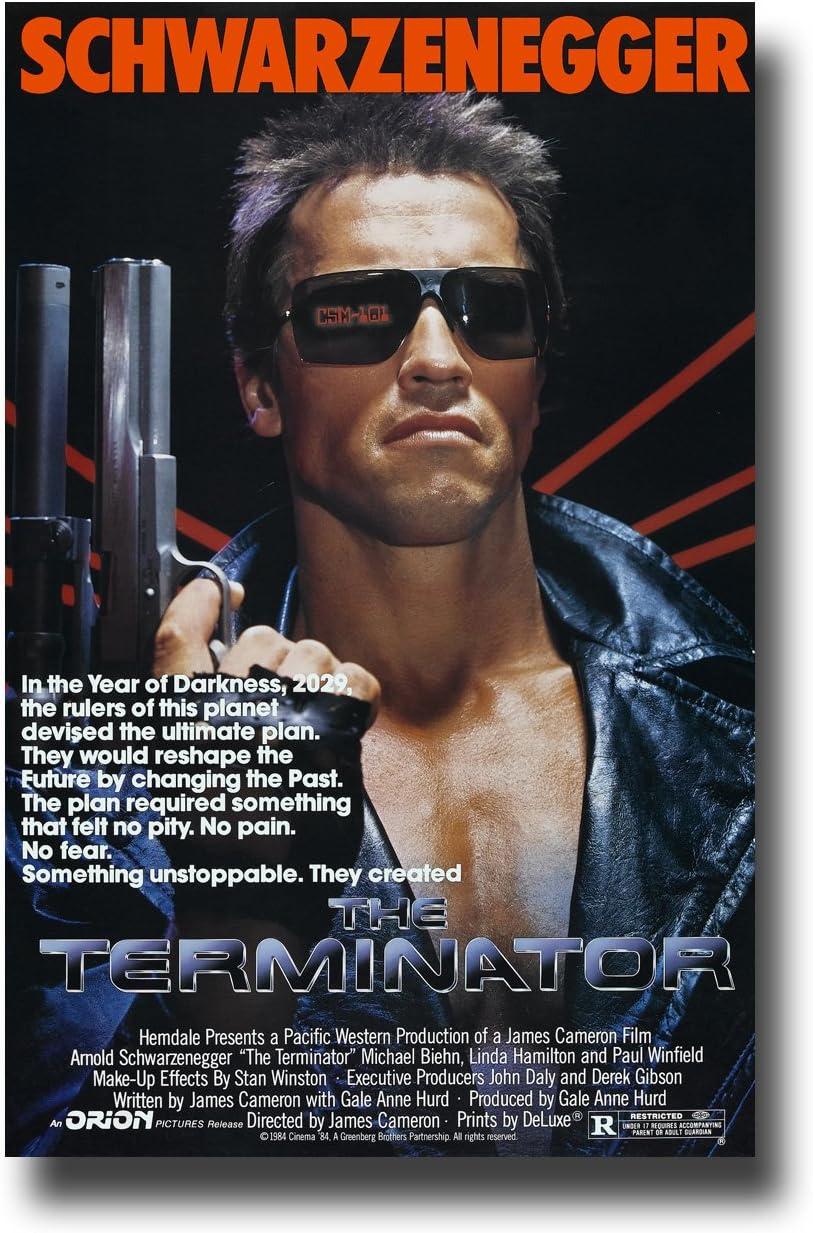 The Terminator Poster Movie Promo 11 x 17 inches Main Schwarzenegger