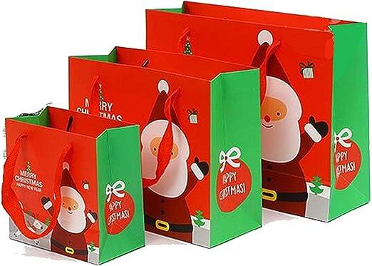 Caja de regalo de Navidad de Papá Noel, muñeco de nieve, dulces ...