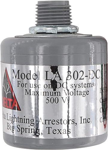 Delta Lightning DC Surge Arrestor – 0-500 VDC, LA302DC