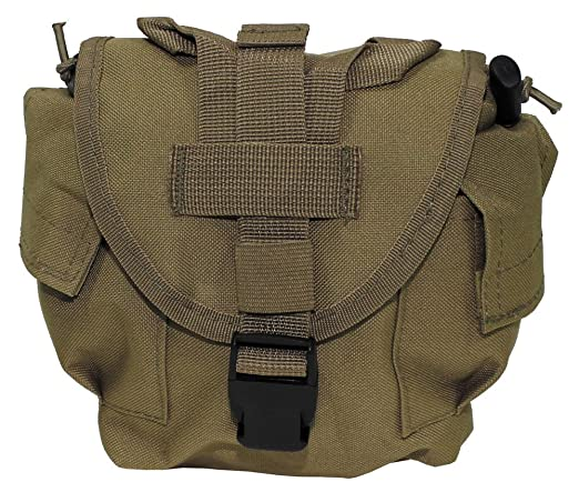 MFH Molle - Bolso portabotellas Coyote Tan