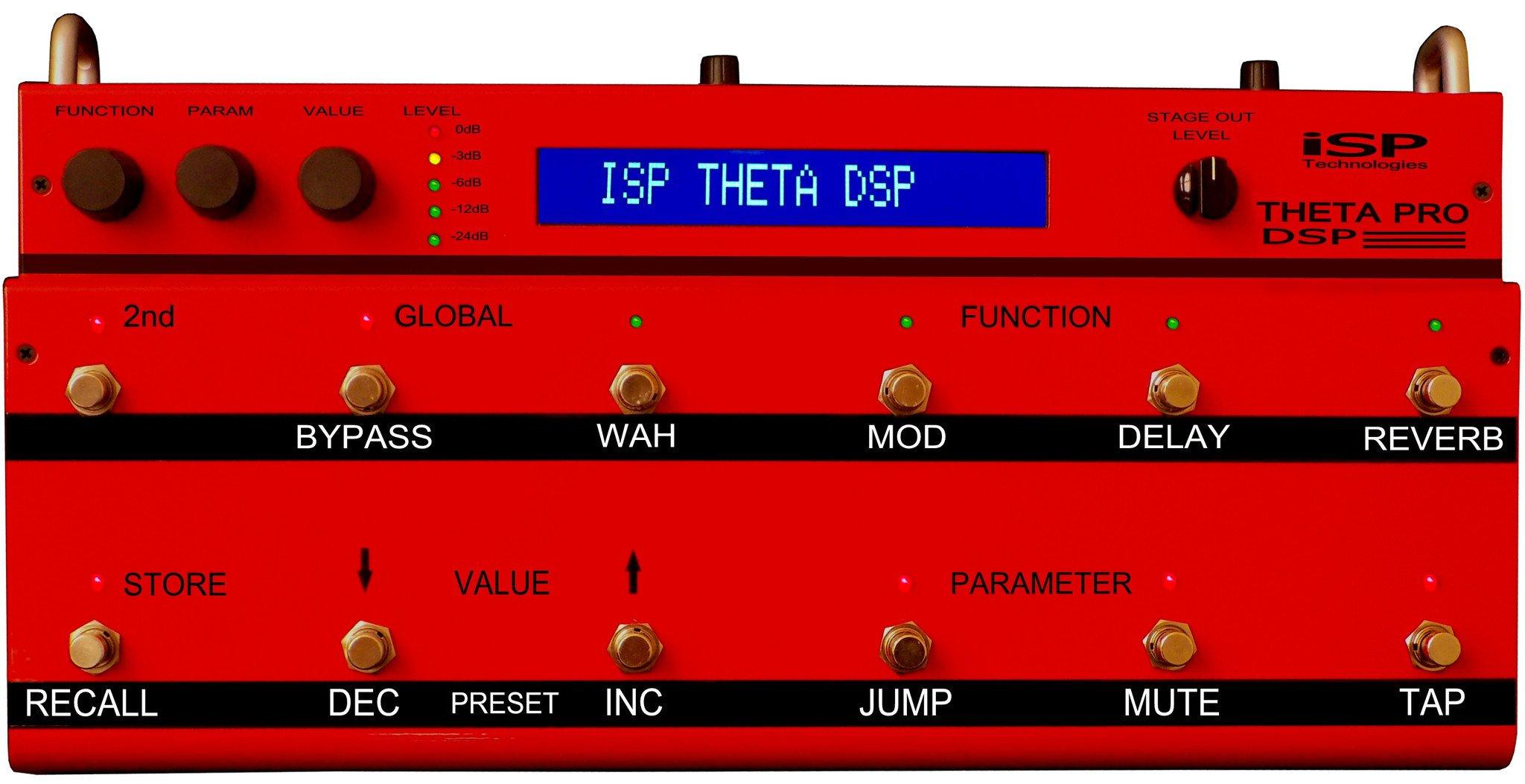ISP Technologies Theta Pro DSP Preamp Pedal by ISP Technologies