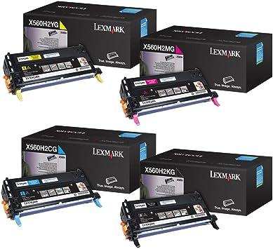 Amazon.com: Lexmark X560 High Yield Toner Cartridge Set: Office Products