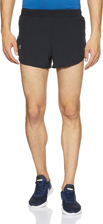 Under Armour coolswitch homme Split Shorts De Course-Noir