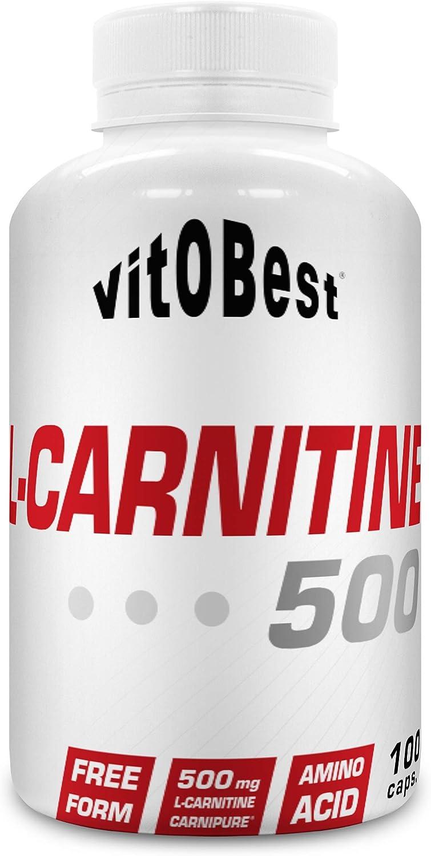 L-CARNITINE 500-100 Caps. - Suplementos Alimentación y Suplementos Deportivos - Vitobest