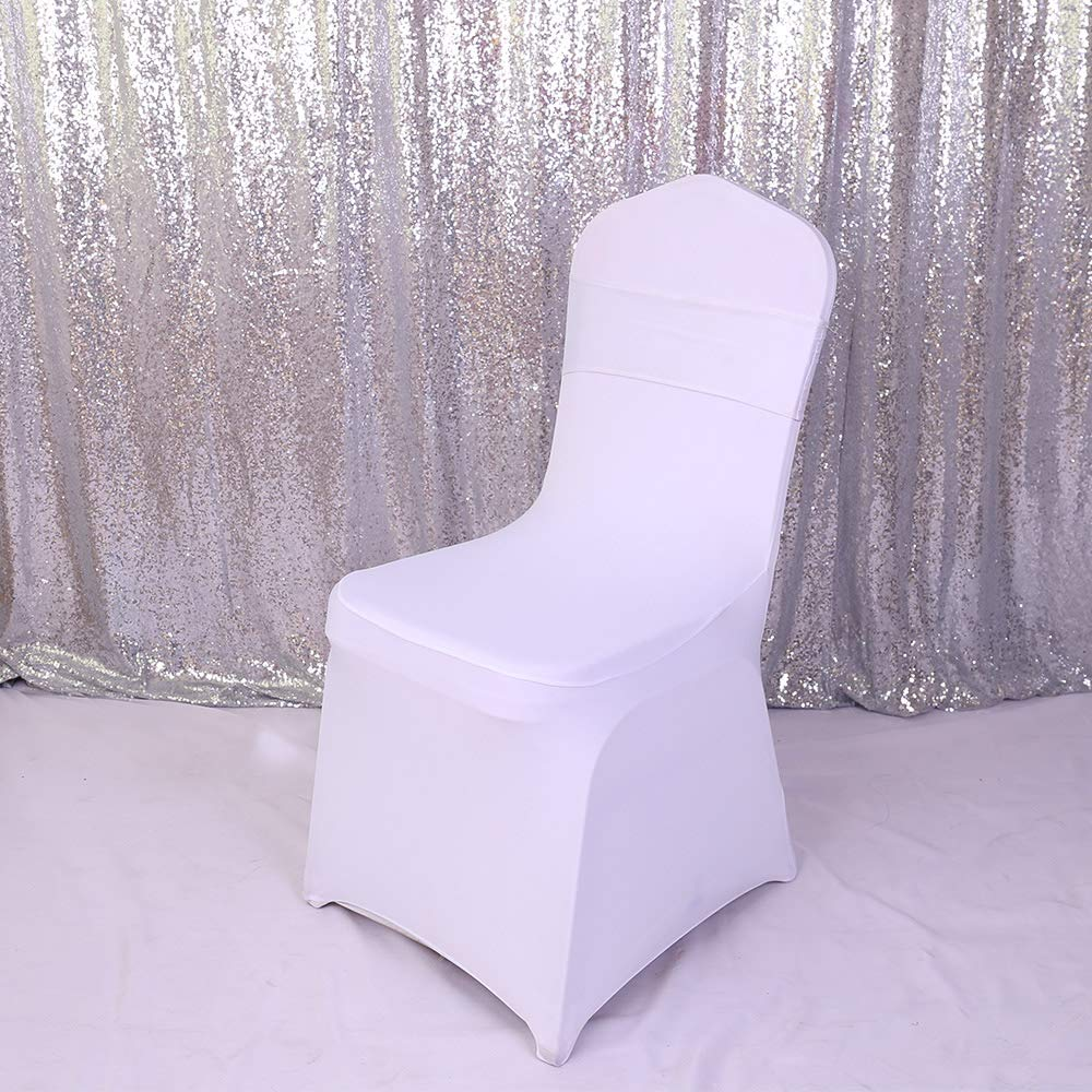 GFCC 1pcs Banquet Spandex Stretchable Chair Covers-Apple Green