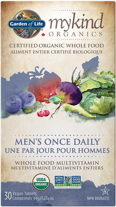GARDEN OF LIFE Multi Once Daily Men, 30 CT