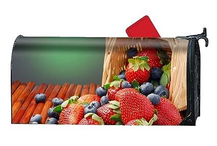 bas prix 7d3cf ff9f1 Amazon.com: XPNiao Magnetic Garden Yard Mailbox Cover Fruits ...
