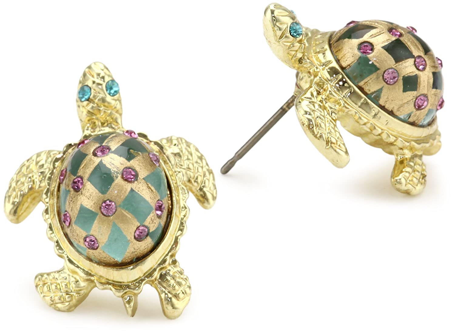 ce this endearing silver siam j the earrings will zirconia crafted exquisite wht details with embellished flair sea adorable set and mini add stud turtle cubic of artisan products