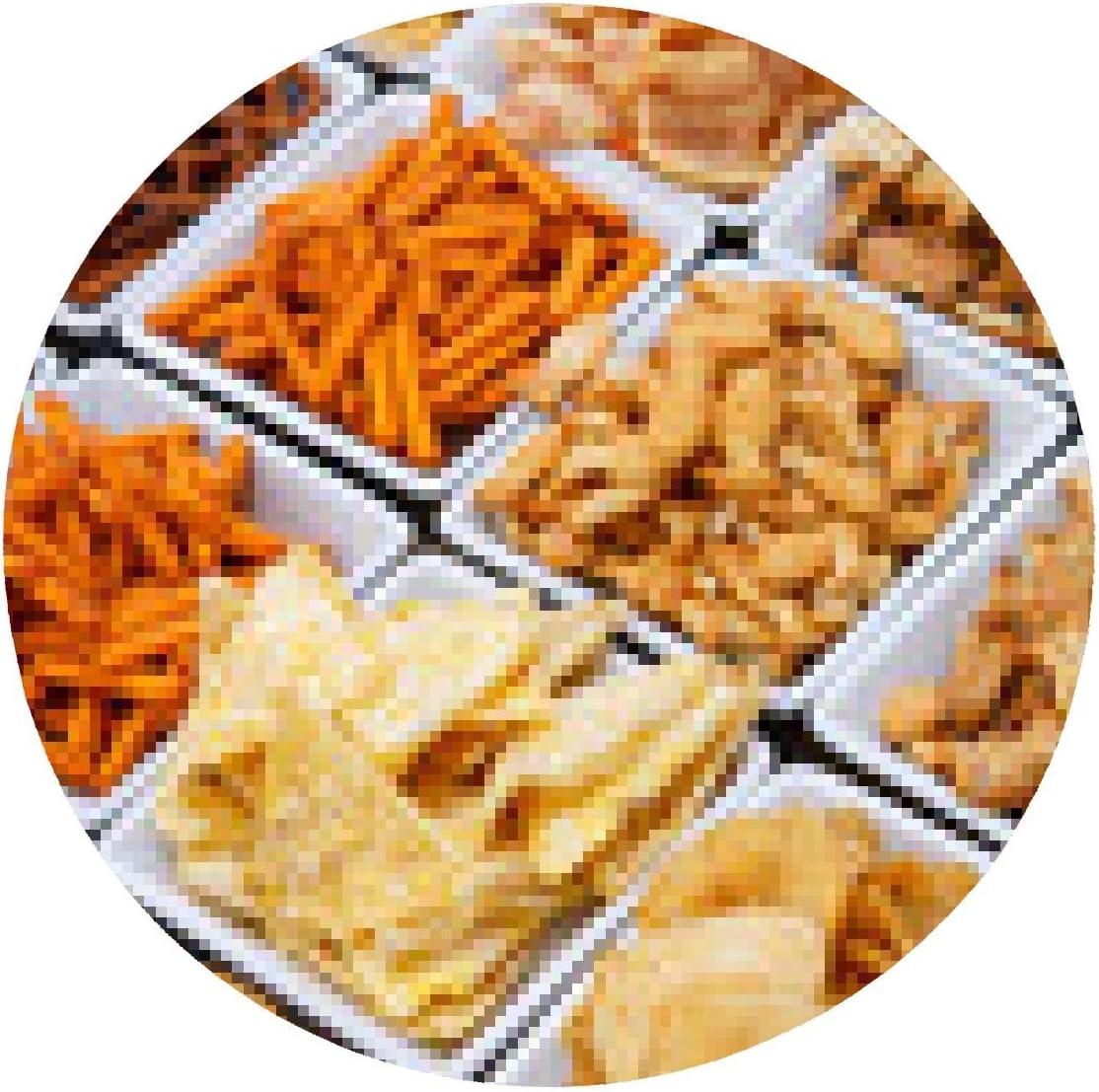 alfombrilla de ratón Muchos tipos de aperitivo salado en ...